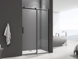 Душевая дверь Good Door GALAXY WTW-170-C-B 170Х195 стекло прозрачное