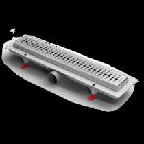 Душевой лоток Alpen Basic CH-350B1 матовый с решеткой и опорами