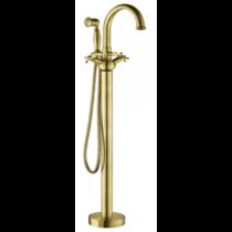 Смеситель Gemy G7099 для ванны напольный с душем