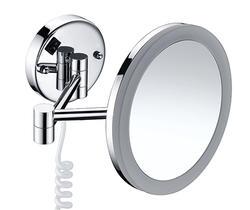 Wasserkraft K-1004 Зеркало с LED-подсветкой 3-х кратным увеличением