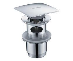 WasserKRAFT A105 Донный клапан Push-up с переливом
