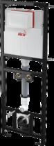 Монтажная рама Alcaplast с бачком для видуара и смесителя, со стоковым коленом DN90/110 высота монтажа 1,5 м, A108F/1500