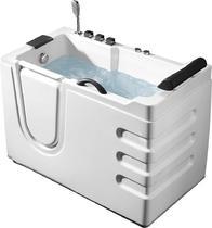 Акриловая ванна ABBER AB9000 B L 130x70
