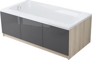 Акриловая ванна Cersanit SMART 170х80 R