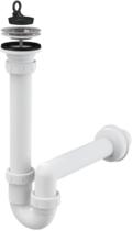 Сифон для мойки AlcaPlast трубчатый с нержавеющей решеткой Ø70 A800-DN40