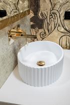 Раковина накладная Boheme белый матовый 878-WM