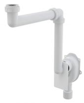 Универсальный сифон под штукатурку AlcaPlast экономящий пространство A873