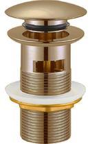 """Донный клапан с системой """"Клик-клак"""" с переливом, бронза Cezares CZR-SAT6-02"""
