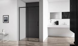 Душевая дверь BelBagno чёрная ACQUA-BF-1-120-C-NERO