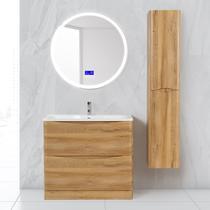 Шкаф-колонна BelBagno 32x160см Bianco Lucido ACQUA-1600-2A-SC-BL