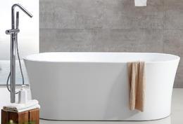 Акриловая ванна ABBER AB9201 160x80