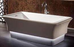 Акриловая ванна ABBER AB9221 168x85x58