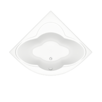 Акриловая ванна Bas Имейджен 139x139 см