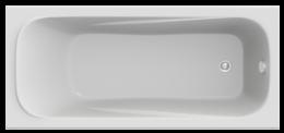 Акриловая ванна Bas Кварта 180x80 см