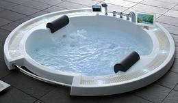 Акриловая ванна GEMY G9060 O 210x210x87