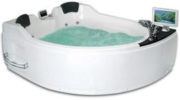 Акриловая ванна GEMY G9086 O L 170x133x76