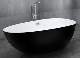 Акриловая ванна ABBER AB9211B 170x85x58