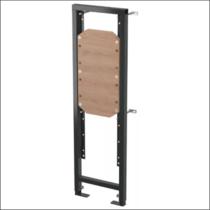 Монтажная рама для поручней AlcaPlast для людей с ограниченными физическими способностями высота монтажа 1,2 м, A106/1200