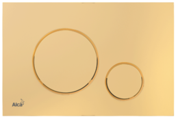 Кнопка управления AlcaPlast золотая M675