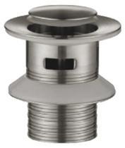 Донный клапан с переливом, сатин BelBagno BB-PCU-01-IN