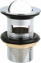 Донный клапан с переливом, хром BelBagno BB-PCU-05-CRM
