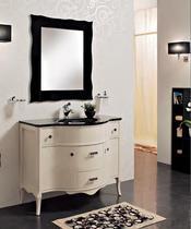 Зеркало Cezares 89x90 Nero Laccato Lucido Anthony 990.07.705