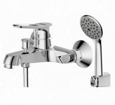 Смеситель для ванны с душем BRAVAT ECO-D F6111158C-B ХРОМ