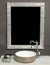 Зеркало Boheme Linea белый/серебро 535