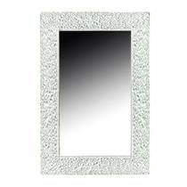 Зеркало Boheme Aura с подсветкой белый глянец 537