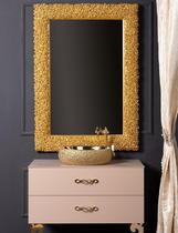 Зеркало Boheme Rose золото 539