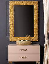 Зеркало Boheme Rose золото 548