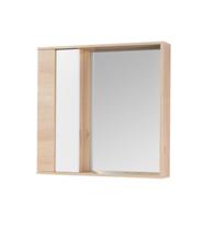 Зеркало АКВАТОН Бостон 1A240302BN010 75 см белый/дуб эврика