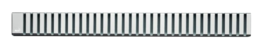 Решетка для душевого лотка AlcaPlast дизайн LINE 145см хром глянцевый LINE-1450L