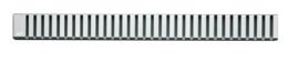 Решетка для душевого лотка AlcaPlast дизайн LINE 30см хром матовый LINE-300M