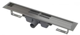 Душевой лоток AlcaPlast с порогами для цельной решетки 115см хром APZ6-1150 SMART