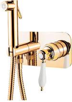 Смеситель с гигиеническим душем однорычажный Cezares APHRODITE-DIF-03/24-Bi