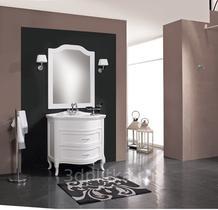 Зеркало Cezares 90x90 Bianco Laccato Lucido Classico LA11002.07