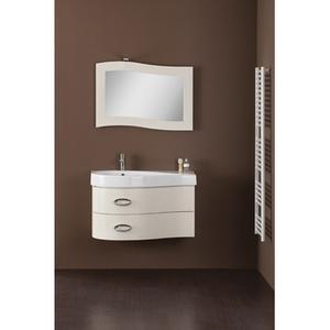 Зеркало с LED подсветкой Cezares 84x65 Bianco Laccato Lucido Sorgente SC.SORG.07