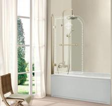 Шторка на ванну Cezares RETRO-A-V-1-80/145-CP-G-R
