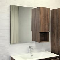 Comforty Зеркало Бордо 90 см дуб темно-коричневый 00-00006663