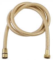 Душевой шланг PVC 150 см, золото Cezares CZR-FD-GLIT-150-03/24