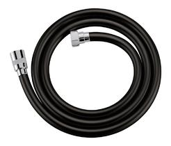 Душевой шланг PVC 150 см, чёрный Cezares CZR-FD4-150-NOP