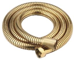 Душевой шланг 120см, золото Cezares CZR-FMDC-120-03