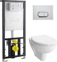 Унитаз с инсталляцией VitrA S20 9004B003-7202