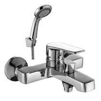 Смеситель для ванны Decoroom с ручным душем хром DR39036