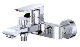 Смеситель для ванны и душа, хром Disco BelBagno DIS-VASM-CRM