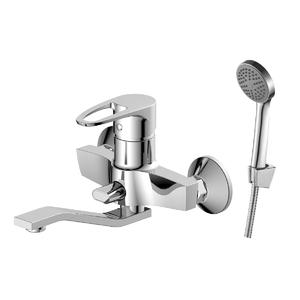 Смеситель для ванны Decoroom с ручным душем хром DR70044