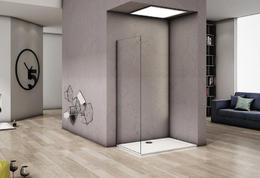Боковая часть Good Door ALTAIR SP-90-C-CH стекло прозрачное