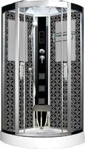 Душевая кабина Niagara Lux NG-7715B хром, черный 90х90х220