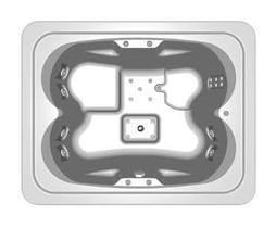 Акриловая ванна Kolpa San Manon 210x165 Elite Magic